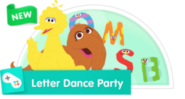 PBS Game LetterDanceParty Small NEW