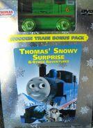 Thomas'SnowySuprisesWithWoodenRailwayMettalicPercy
