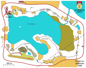 Peräjärvi map
