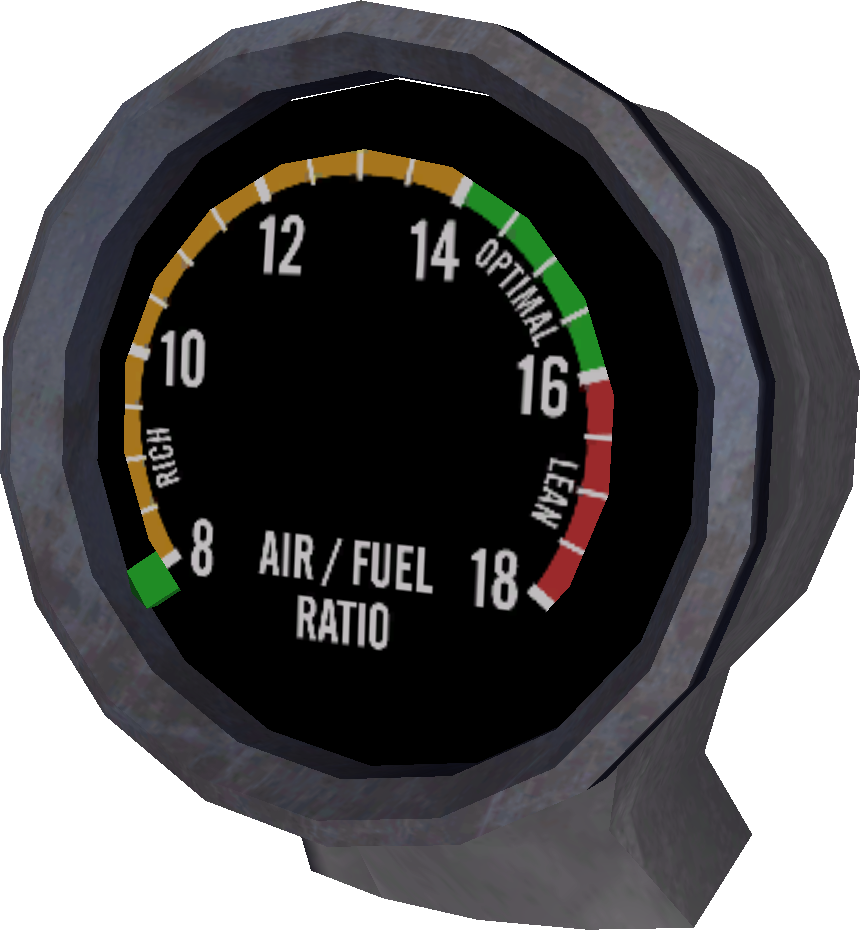 Fuel Mixture Gauge