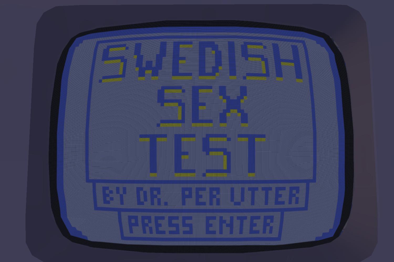 Swedish Sex Test