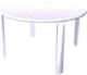 Table (plastic)