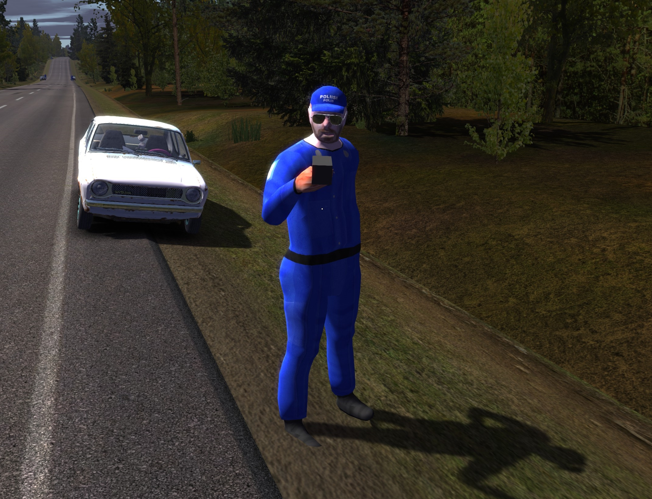 Police checkpoint | My Summer Car Wikia | FANDOM powered by