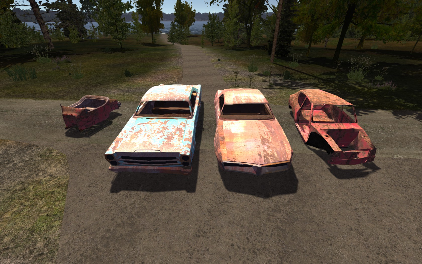 Junkyard Cars For Sale >> Wrecked Cars My Summer Car Wikia Fandom