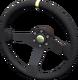 Rally steering wheel