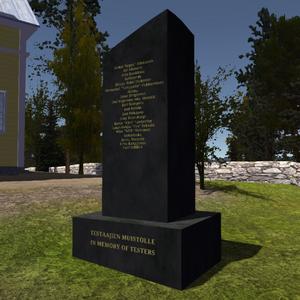 Tester gravestone