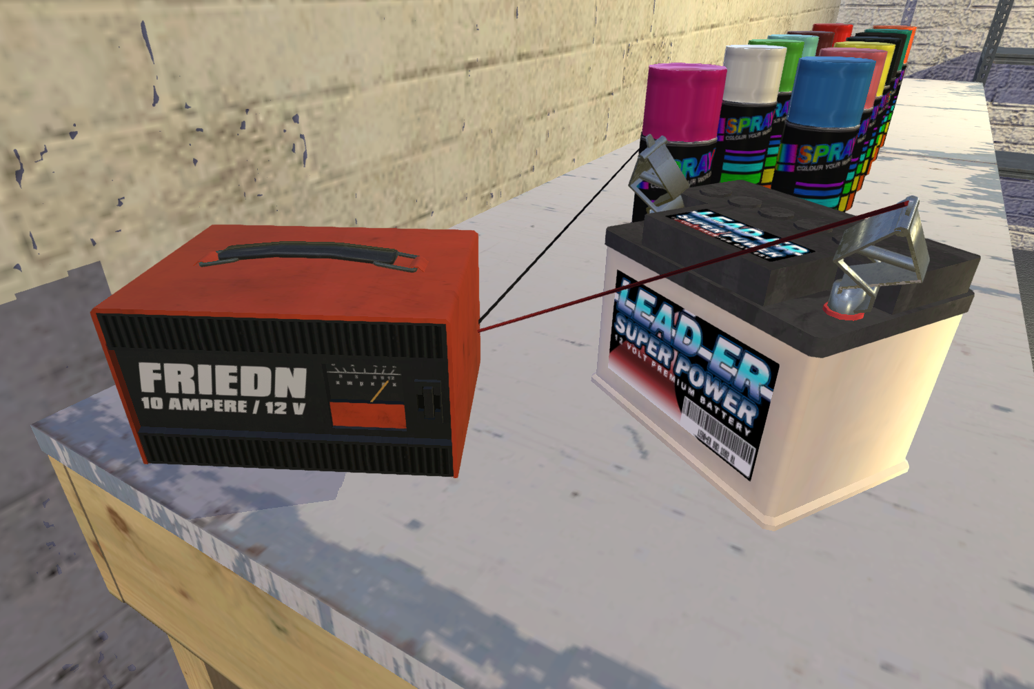 Battery charger | My Summer Car Wikia | FANDOM powered by Wikia