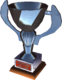 2nd place trophy