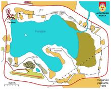 Mapa de Peräjärvi