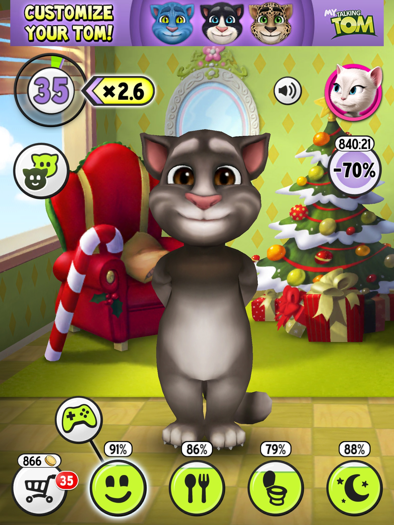 Image image living my talking tom wiki - My talking tom pictures ...