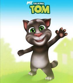 My Talking Tom cat