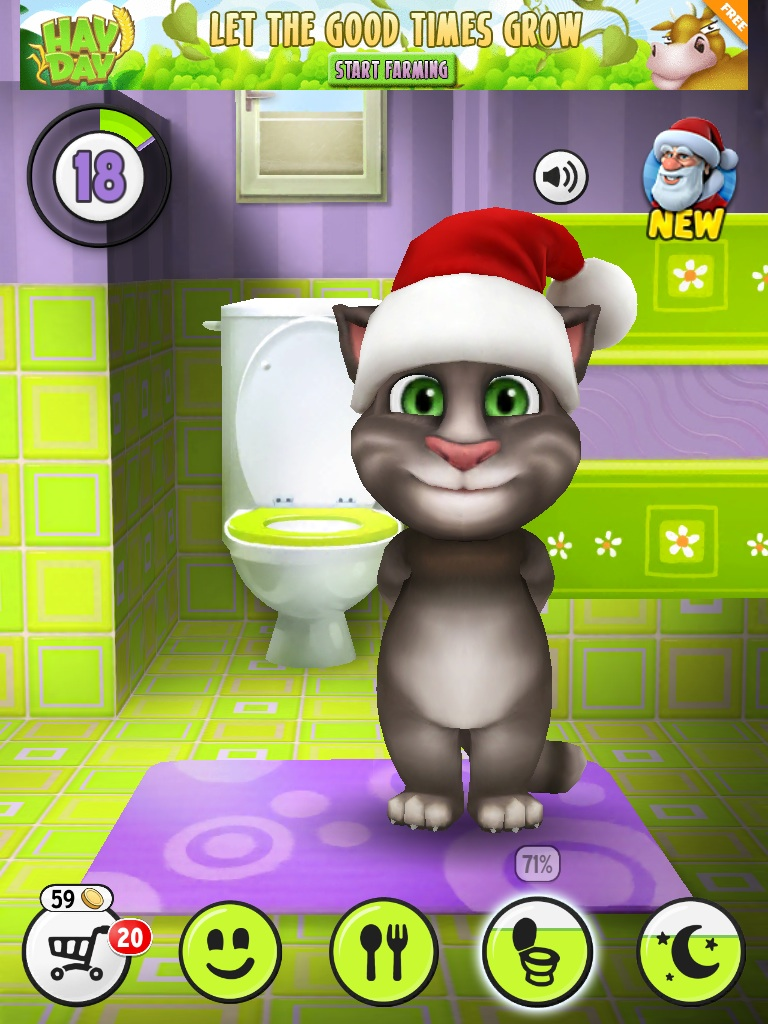 Bathroom my talking tom wiki fandom powered by wikia - My talking tom pictures ...