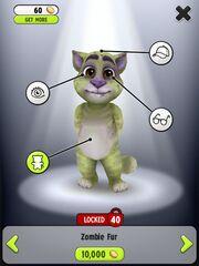 Image zombie fur