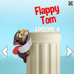 Advertisement of Flappy Tom