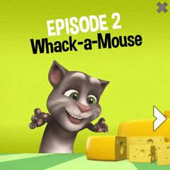Advertisement of Whack-a-Mouse.