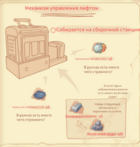 Механизм управления лифтом чертеж