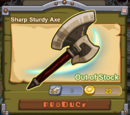 Sharp Sturdy Axe