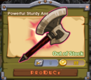 Powerful Sturdy Axe