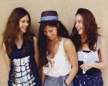 Lucy, Roxanne y Molly