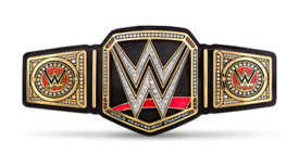 WWE World Championship belt 2016