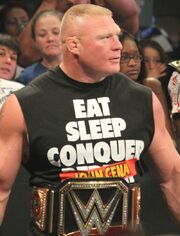 Brock Lesnar WWE Champion 2014