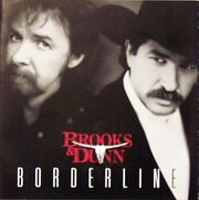 Borderline Brooks and Dunn album cover