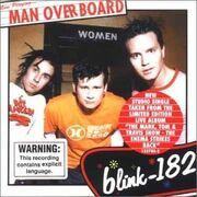 Blink-182 - Man Overboard cover