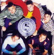 Album five 5ive cover