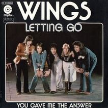 Wings Letting Go cover