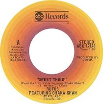 Rufus & Chaka Khan Sweet Thing cover