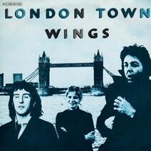 Wings London Town cover