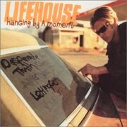 Lifehouse Hanging By A Moment cover