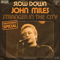 John Miles Slow Down cover