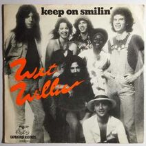 Wet Willie Keep On Smilin' cover