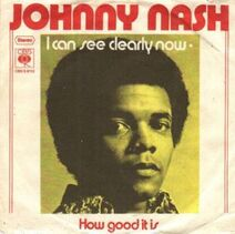 Johnny Nash I Can See Clearly Now cover