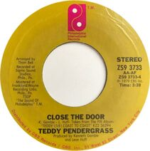 Teddy Pendergrass Close The Door cover