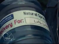 Jug of water for Lotta Latte