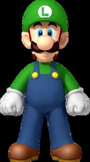 NSMBW Luigi