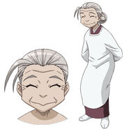 Nagasumi's Grandmother (Character Art)