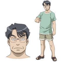 Nagasumi's Father (Character Art)