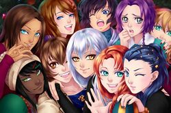 Illustration-Event Christmas2015-All girls