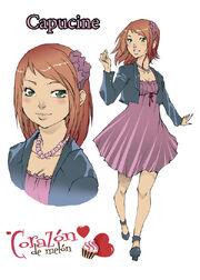 Amour Sucre Manga- Capucine
