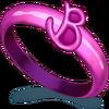 Pink Plastic Ring