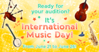 International Music Day Boutique