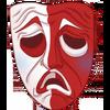 Clothes Icon Sad Mask