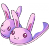 Clothes Icon Bunny Slippers