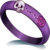 Purple Skull Ring