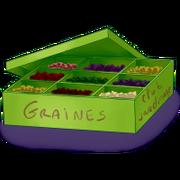 Box of seeds