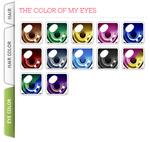 My eye color