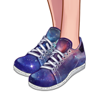 Galaxy running sneakers temporary